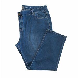 Avenue Denim straight jeans stretch denim size 24
